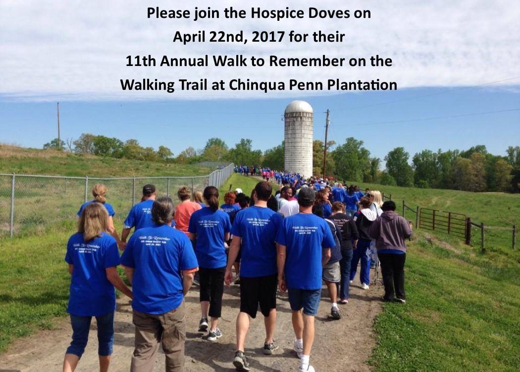 11th Annual Walk to Remember @ Chinqua Penn Walking Trail | Reidsville | North Carolina | United States