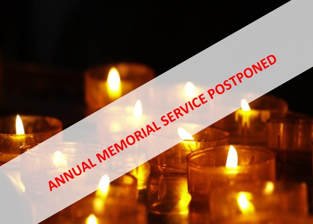 Annual Memorial Service - CANCELLED! @ Calvary Baptist Church